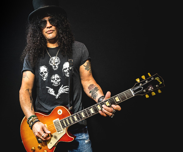 The Story of the Slash 1958 Les Paul First Standard