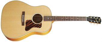 Vintage Guitar掲載記事: J-35にまつわるショートストーリー