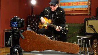 MusicRadar掲載記事 : リック・ニールセンからジェフ・ベックの手に渡ったレス・ポール