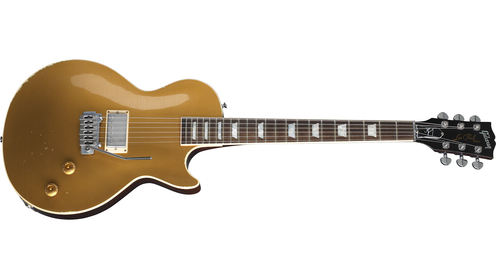 "Joe Perry ""Gold Rush"" Les Paul Axcess"