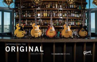 ギブソンが「オリジナル」、「モダン」、「カスタム・ショップ」の 新しい3コレクションを発表