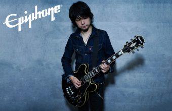 Nothing's Carved In Stone のギタリスト生形真一氏のエピフォン初となるシグネチャーモデルがリリース :『Epiphone Shinichi Ubukata ES‐355 Outfit』