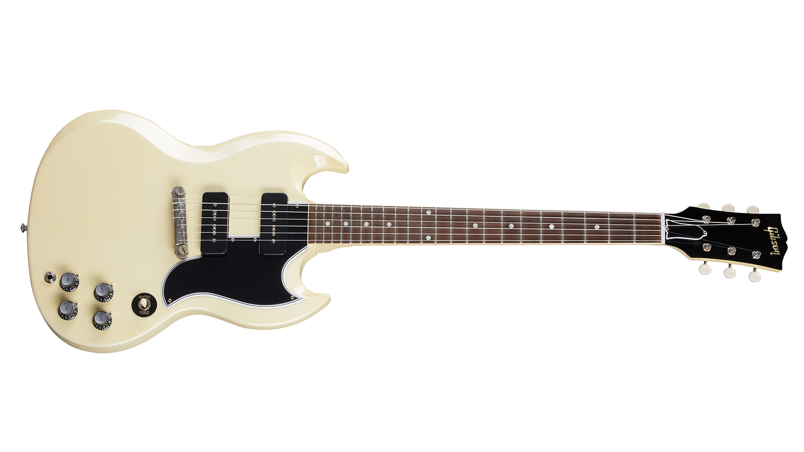 1963 SG Special Classic White Ultra Light Aged