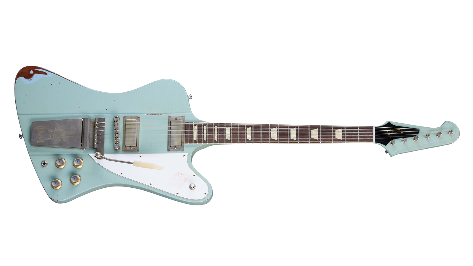 1963 Firebird V With Maestro Vibrola Antique Frost Blue Heavy Aged