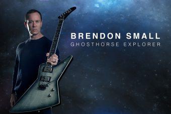 """エピフォンから、アメリカの人気アニメ・シリーズ「メタロカリプス」のクリエイターで 劇中メタルバンド""""デスクロック""""の音楽を手掛けるギタリスト、 ブレンドン・スモールのシグネチャー・モデル『Brendon Small GhostHorse Explorer』がリリース"""
