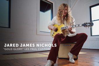 """エピフォンから、アメリカのブルースロック・ギタリスト ジャレッド・ジェイムス・ニコルスのシグネチャー・モデル 『Jared James Nichols """"Gold Glory"""" Les Paul Custom』がリリース"""