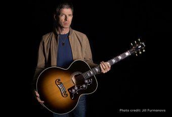ギブソンから、ノエル・ギャラガーの新作シグネチャー・モデル 『Noel Gallagher J-150』がリリース