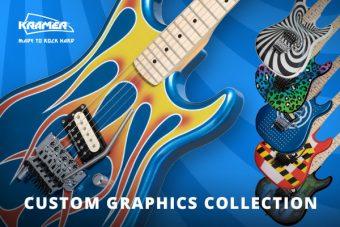 クレイマーから、80年代ポップカルチャーにインスパイアされたカスタム・グラフィックの最新『Custom Graphics Collection』がリリース