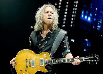 ギブソンが、メタリカのギタリスト  カーク・ハメットとのパートナーシップを発表