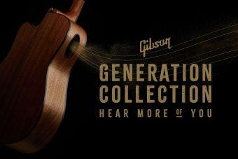 """ギブソンから、独自開発したボディサイドのサウンドホール """"プレイヤー・ポート"""" を搭載した 次世代のアコースティック コレクション『ジェネレーション・コレクション』が全4機種にてリリース"""
